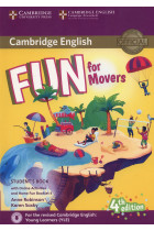 Купить - Книги - Fun for Movers. Student's Book with Online Activities with Audio and Home Fun Booklet 4