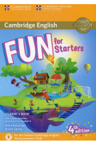 Купить - Книги - Fun for Starters. Student's Book with Online Activities with Audio and Home Fun Booklet 2