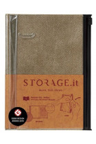 Купити - Блокноти - Блокнот Storage.it Denim M Беж (STI-NB51-C)