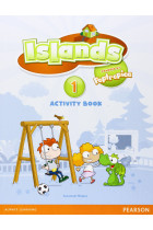 Купити - Книжки - Islands Level 1 Activity Book Plus Pin Code