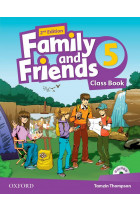 Купить - Книги - Family and Friends. Level 5. Class Book