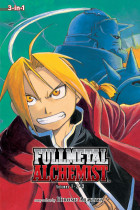 Купить - Книги - Fullmetal Alchemist. 3-in-1 Edition. Volume 1