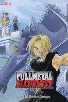 Купить - Книги - Fullmetal Alchemist. 3-in-1 Edition. Volume 3