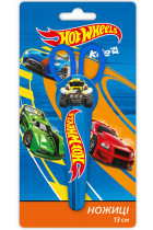 Купить - Все для школы - Ножницы Kite Hot Wheels в футляре (HW17-125)
