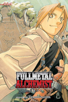 Купить - Книги - Fullmetal Alchemist. 3-in-1 Edition. Volume 4