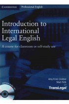 Купить - Книги - Introduction to International Legal English Student's Book with Audio (+CD)