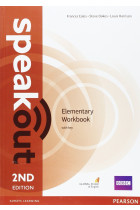 Купити - Книжки - Speakout Elementary Workbook + key