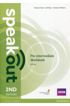 Купить - Книги - Speakout Pre-Intermediate Workbook + Key