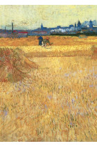 Купити - Подарунки - Листівка Tushita Vincent van Gogh Arles View from the Wheat Fields