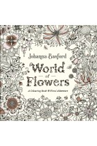 Купить - Книги - World of Flowers: A Colouring Book and Floral Adventure