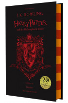Купить - Книги - Harry Potter and the Philosopher's Stone (Gryffindor Edition)