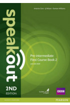 Купить - Книги - Speakout (2nd Edition) Pre-Intermediate Flexi 2 (Split Edition: Coursebook & Workbook)