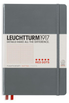Купити - Блокноти - Блокнот Leuchtturm1917 Medium Red Dots Антрацит (357699)