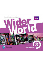 Купить - Книги - Wider World 3 (B1) Class Audio CDs
