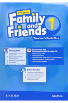 Купить - Книги - Family and Friends 1 Second Edition Teacher's Book Plus