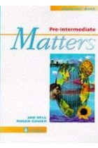 Купить - Книги - Pre-Intermediate Matters. Students' Book