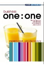 Купить - Книги - Business one:one. Pre-internediate. Student's Book Pack