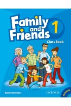 Купити - Книжки - Family and Friends 1. Class Book Pack
