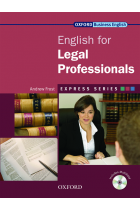 Купить - Книги - Oxford English for Legal Professionals. Student's Book (+ CD-ROM)