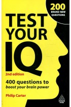 Купить - Книги - Test Your IQ: 400 Questions to Boost Your Brainpower