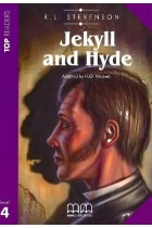 Купить - Книги - Jekyll and Hydy. Book with CD. Level 4