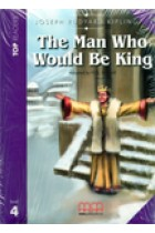 Купить - Книги - The man who would be king. Book with CD. Level 4