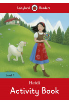 Купити - Книжки - Ladybird Readers. Level 4. Heidi. Activity Book