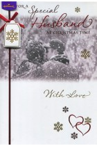 Купить - Подарки - Открытка Hallmark For A Special Husband At Christmas Time With Love (10495895)