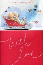 Купить - Подарки - Открытка Hallmark A Christmas Wish For My Wife With Love (10573064)