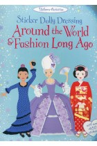 Sticker Dolly Dressing. Around the World and Fashion Long Ago
