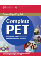 Купить - Книги - Complete PET Student's Book with answers with CD-ROM
