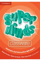 Купить - Книги - Super Minds. Level 4. Classware CD and Interactive DVD