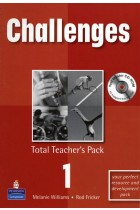 Купить - Книги - Challenges: Total Teachers Pack 1 and Test Master CD