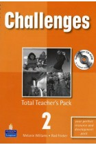 Купить - Книги - Challenges: Total Teachers Pack 2 and Test Master CD