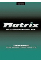 Купить - Книги - Matrix Pre-Intermediate: Teacher's Book