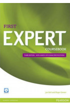 Купить - Книги - First Expert (3rd Edition) Coursebook with Audio CD