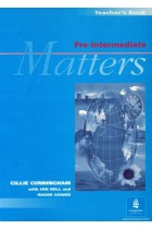 Купить - Книги - Pre-intermediate Matters: Teachers' Book