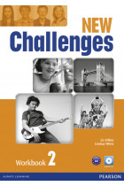 Купити - Книжки - New Challenges 2 Workbook & Audio CD Pack