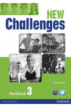 Купить - Книги - New Challenges 3 Workbook & Audio CD Pack