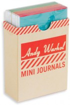Купити - Книжки - Andy Warhol Philosophy Mini Journal Set