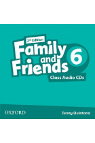 Купить - Книги - Family & Friends: 6 Class Audio CD (2)