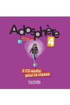 Купить - Книги - Adosphère 4. CD audio classe (x2)