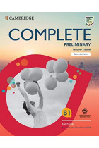 Complete Preliminary Teacher's Book with Downloadable Resource Pack (Class Audio and Teacher's Photocopiable Worksheets)