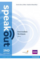 Купити - Книжки - SpeakOut Intermediate Workbook + Key