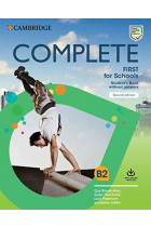 Купити - Книжки - Complete First for Schools Student's Book without Answers with Online Practice