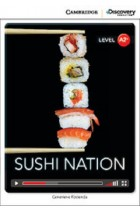 Купити - Книжки - Sushi Nation Low Intermediate Book with Online Access