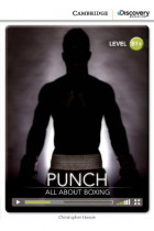Купить - Книги - Punch: All About Boxing Intermediate Book with Online Access