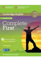 Купить - Книги - Complete First Student's Book without Answers with CD-ROM