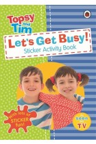 Купити - Книжки - Let's Get Busy! A Ladybird Topsy and Tim sticker activity book