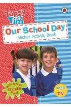 Купити - Книжки - Topsy and Tim: Our School Day. Sticker Activity Book